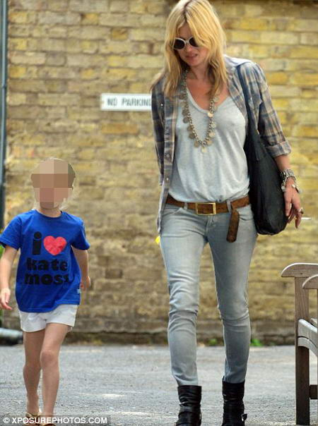 Lila Grace I heart Kate Moss T Shirt and Kate Moss