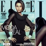 Lily Aldridge Elle Brazil April 2013 cover