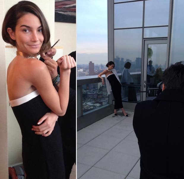 Lily Aldridge Elle Brazil April 2013
