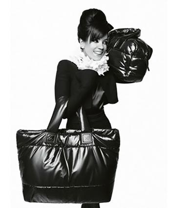 Lily Allen Chanel Coco Cocoon ad