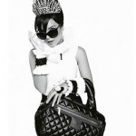 Lily Allen Chanel Coco Cocoon bags ad campaign