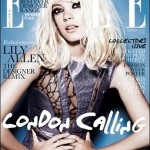 Lily Allen Elle UK October 2009 cover