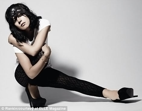 Lily Allen Elle UK October 2009 photo