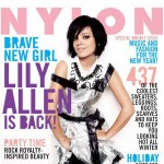Lily Allen Nylon Magazine December January 2008 2009 cover