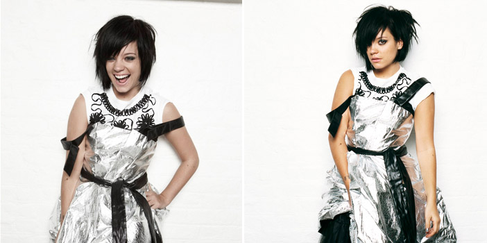 Lily Allen Nylon Magazine December January 2008 2009 photos