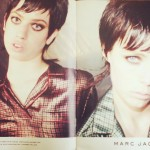 Lily McMenamy Edie Campbell Marc Jacobs weird Fall 2013 ad campaign
