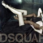 Linda Evangelista Naomi Campbell DSquared 2 Spring Summer 2009 ad campaign 2