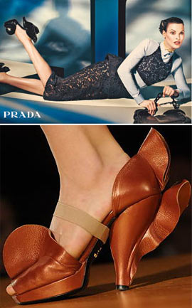 Linda Evangelista Prada Ads Fall-Winter 2008-2009