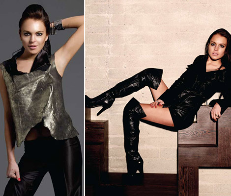 Lindsay Lohan 6126 clothes collection FW 2010