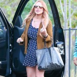 Lindsay Lohan fashion disaster socks booties