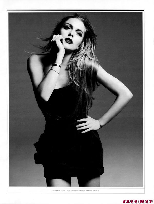 Lindsay Lohan By Hedi Slimane Vs. Mert And Marcus