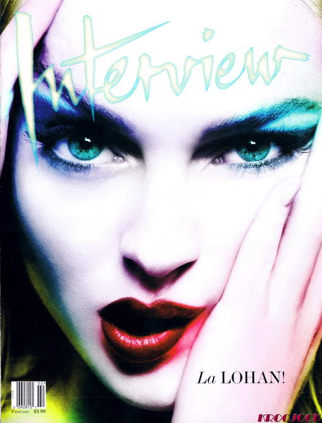 Lindsay Lohan Interview Mert Marcus cover