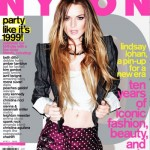 Lindsay Lohan Nylon Magazine April 09 cover