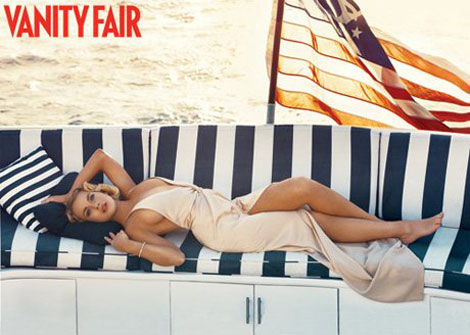 Lindsay Lohan's Vanity Fair October 2010