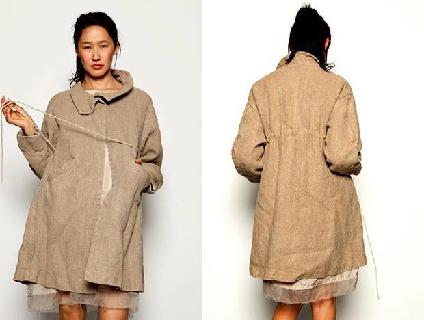 linen coat for fall psc