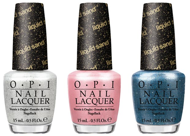 Bond Girl Nails: OPI Bond Girls Liquid Sand Polish Collection