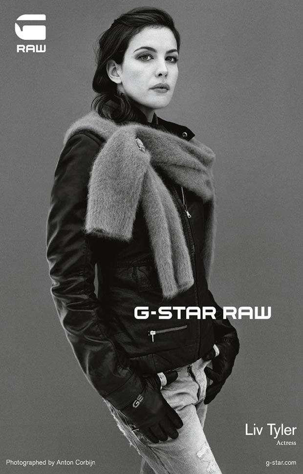 Liv Tyler G Star raw denim ad campaign 4