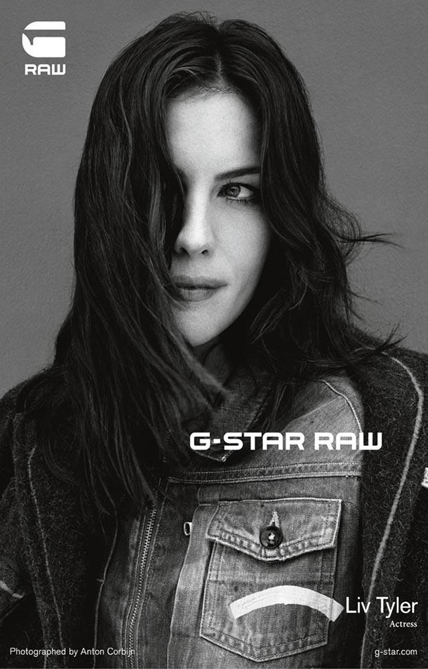Liv Tyler G Star raw denim ad campaign 6