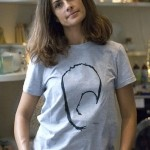 Livia Firth John Rocha Survival mask tee