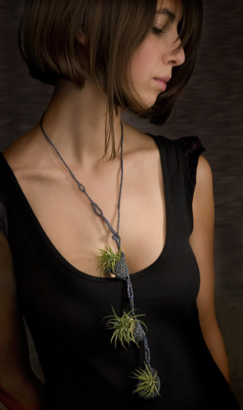Dare To Wear The Living Necklace By Paula Hayes?
