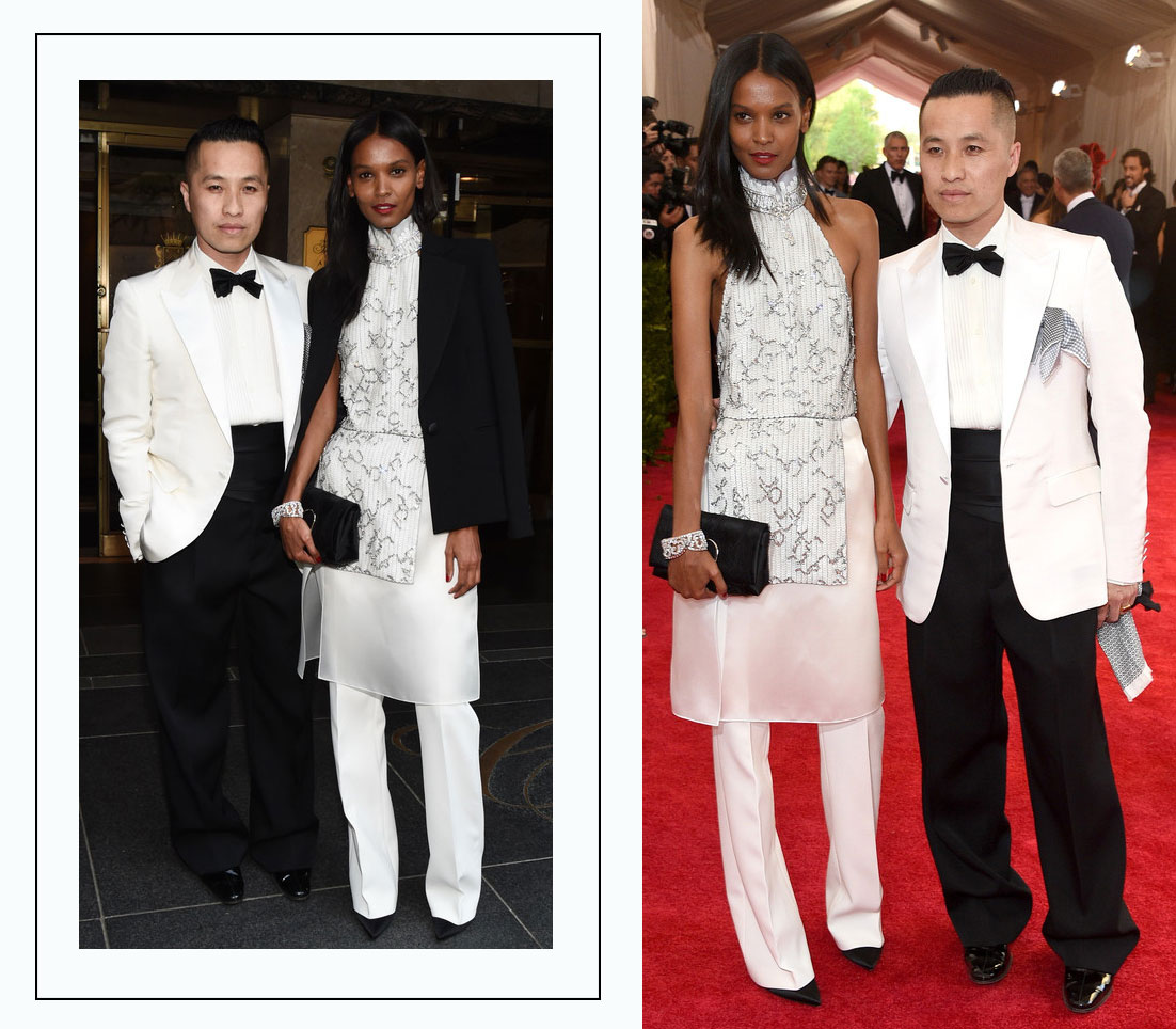 Liya Kebede Met Gala 2015 best dressed white Philip Lim