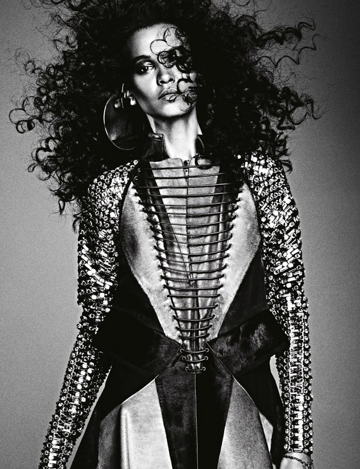 Liya Kebede Numero France Ben Hassett picture