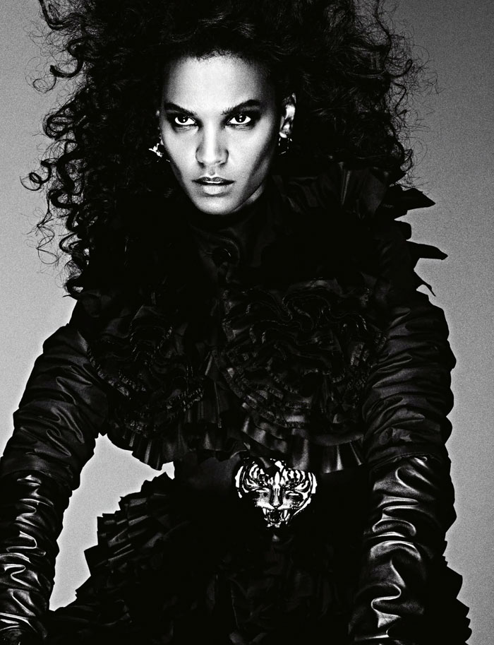 Liya Kebede Numero France Ben Hassett The Warrior