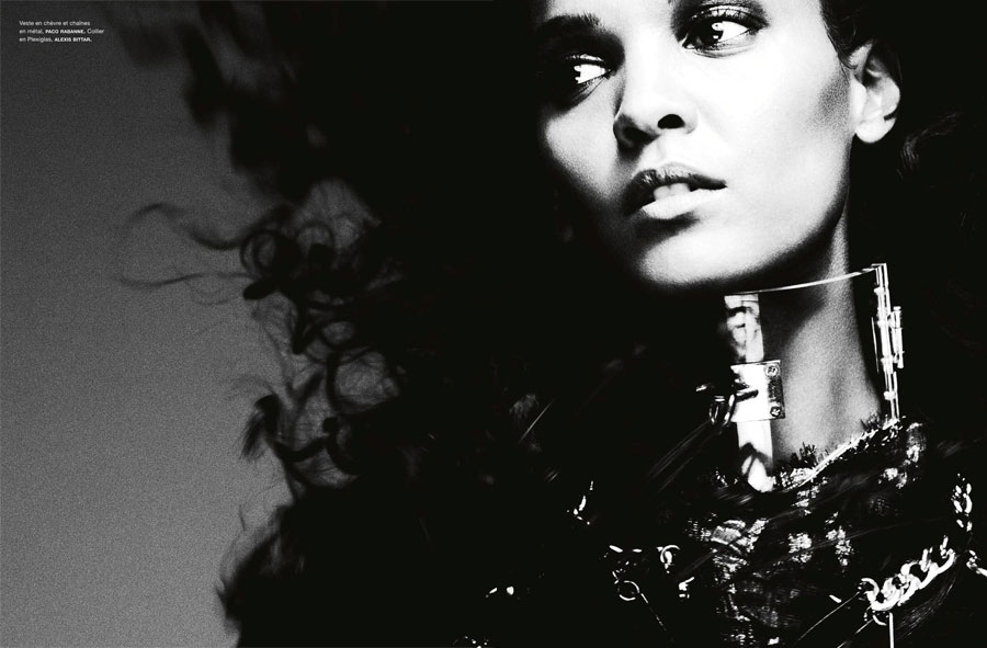 Liya Kebede Numero France November 2012