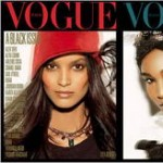 Liya Kebede, Sessilee Lopez, Jourdan Dunn, Naomi Campbell Vogue Italy July 2008 Cover