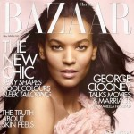 Liya Kebede UK Harpers Bazaar Cover May 2008