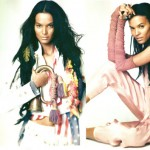 Liya Kebede UK Harpers Bazaar May 2008