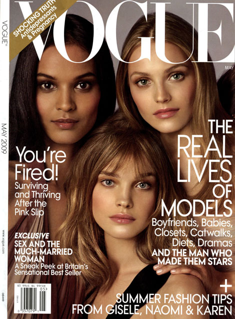 Liya Natalia Anna Vogue May 2009 cover