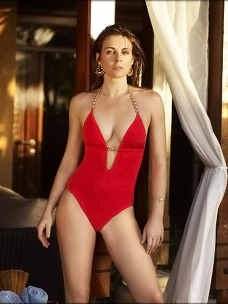 Liz Hurley Beach collection 2010 one piece