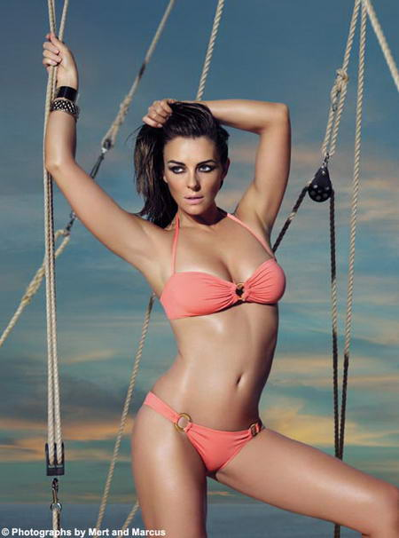 Elizabeth Hurley For Mango