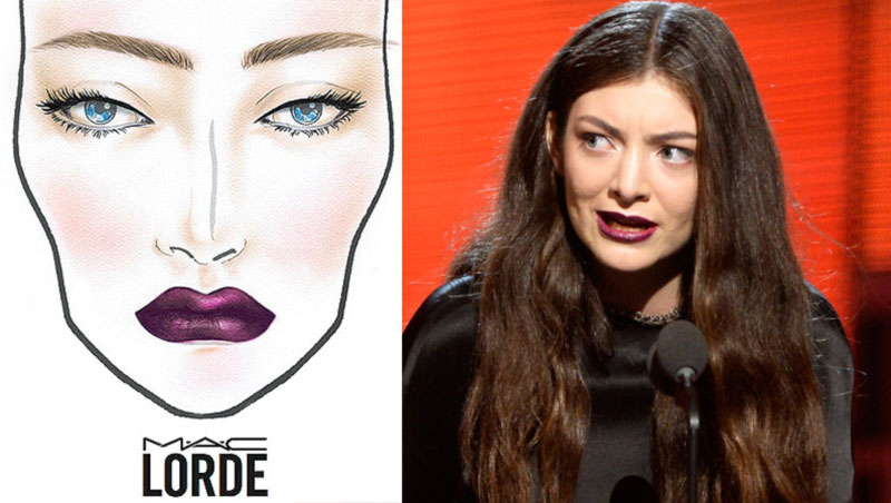 Lorde releasing new MAC makeup collection