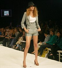 Lou Doillon 2008 Collection for Lee Cooper