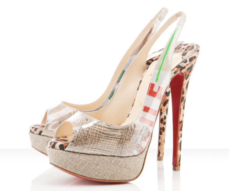 Louboutin Trash Eco Recycled shoes
