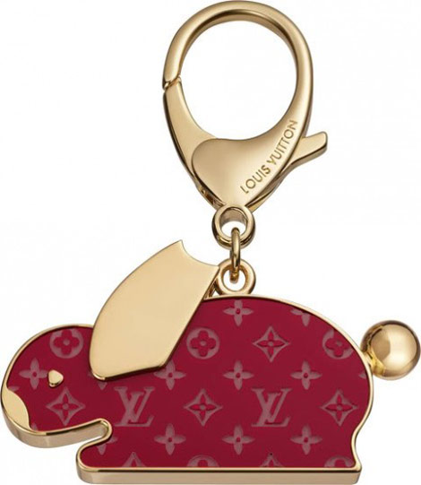 Louis Vuitton Animania Rabbit bag charm