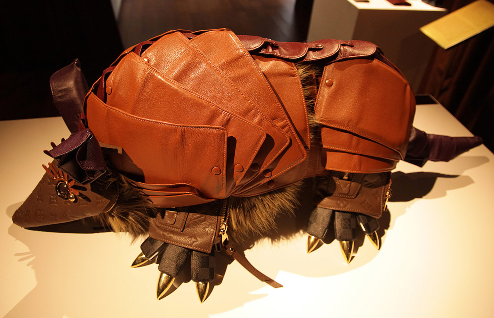 Louis Vuitton Billie Achilleos Animals Armadillo