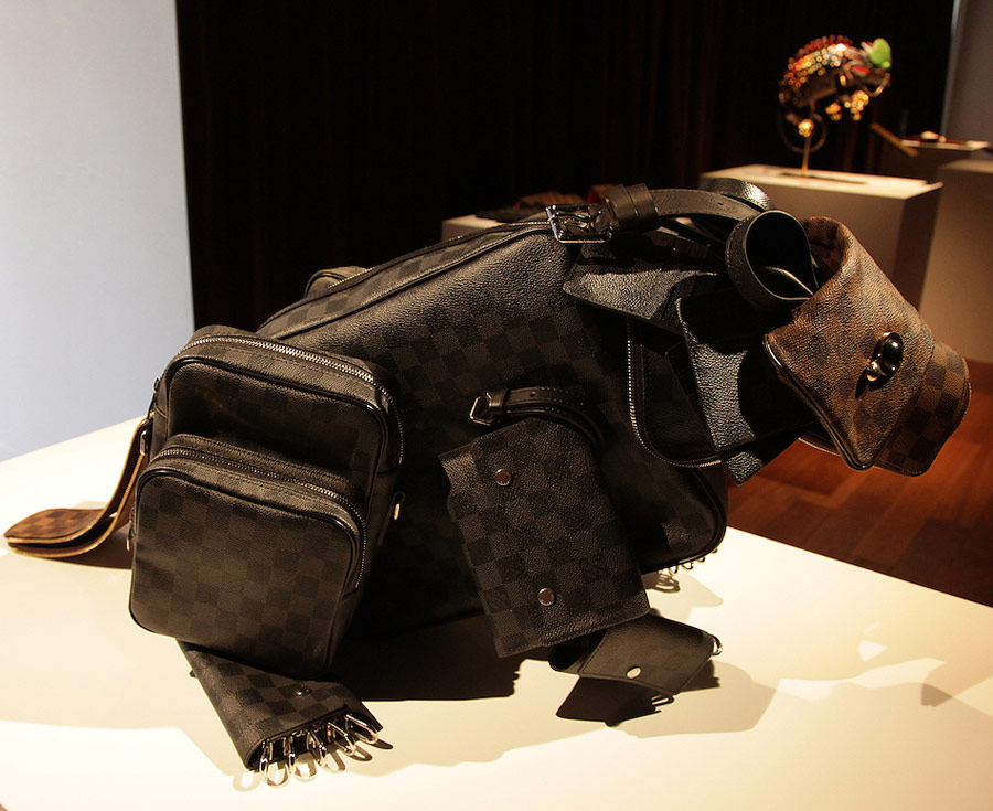 Louis Vuitton Billie Achilleos Animals Beaver
