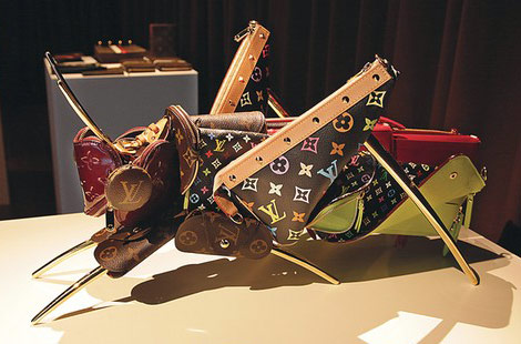 Louis Vuitton Animals By Billie Achilleos
