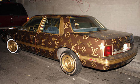 Louis Vuitton car