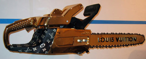 Louis Vuitton chainsaw