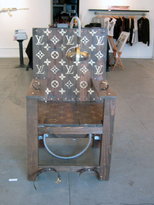 Louis Vuitton chair