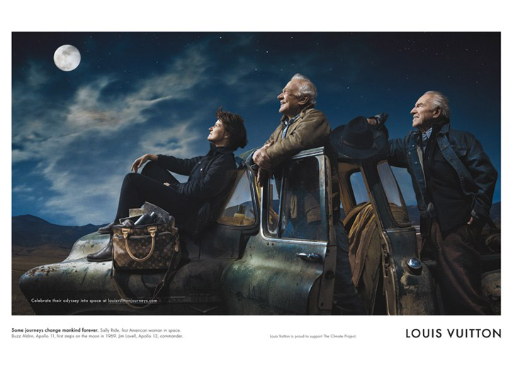 Louis Vuitton Core Values Campaign Moon Odyssey