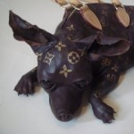 Louis Vuitton Dog Sculpture