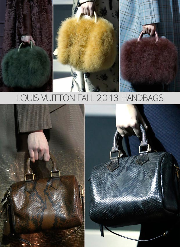 Louis Vuitton Fall 2013 bags