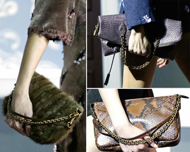 Louis Vuitton Fall 2013 clutches