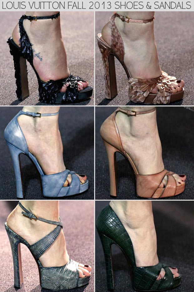 Louis Vuitton Fall 2013 shoes and sandals