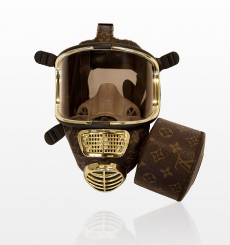 Louis Vuitton gas mask